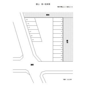 雲山第一駐車場