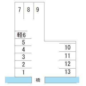 栗谷町 中嶋駐車場 6番